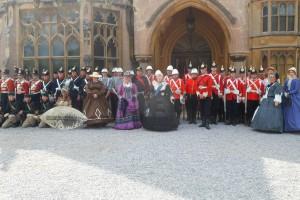 Full parade Tyntesfield
