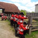 The sham fight at Chilterns