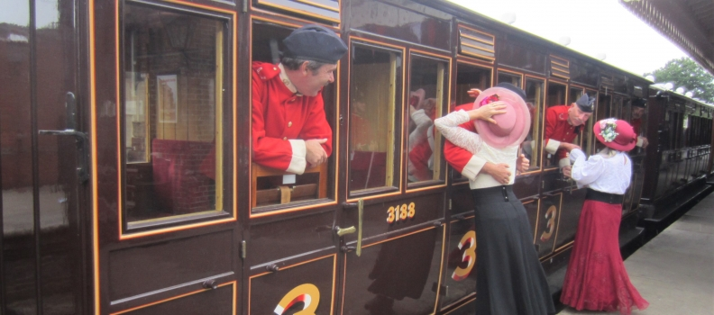 A Weekend at the Bluebell Railway (Or, how the Diehards lost Queen Victoria)